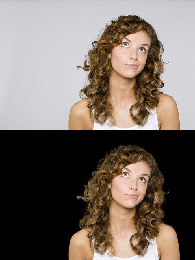 Confused looking woman